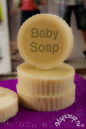 Baby Soap детское кастильское мыло с нуля
