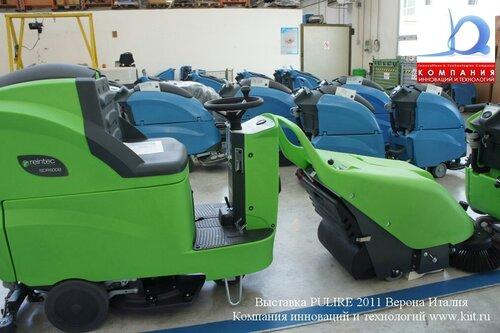 Склад готовой продукции поломоечные машины FIMAP завод FIMAP Италия