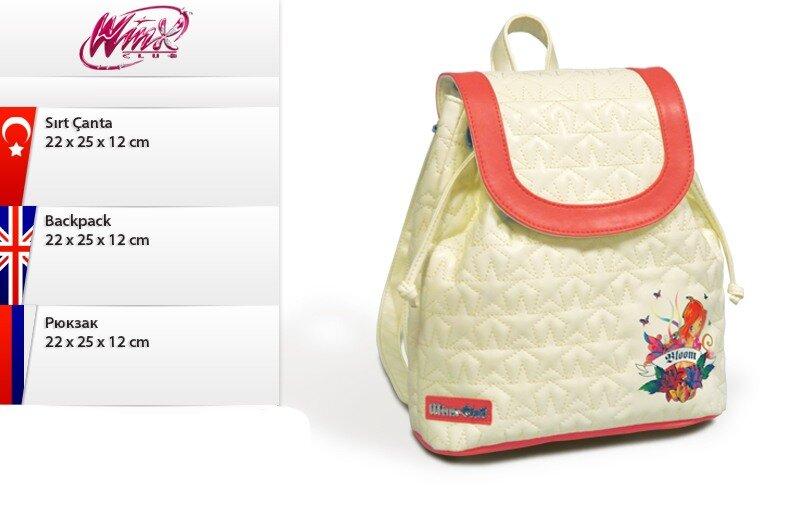 Модный рюкзак Winx Club (Винкс)
