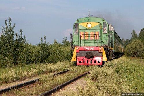 Пригородный поезд Иваново - Комсомольск