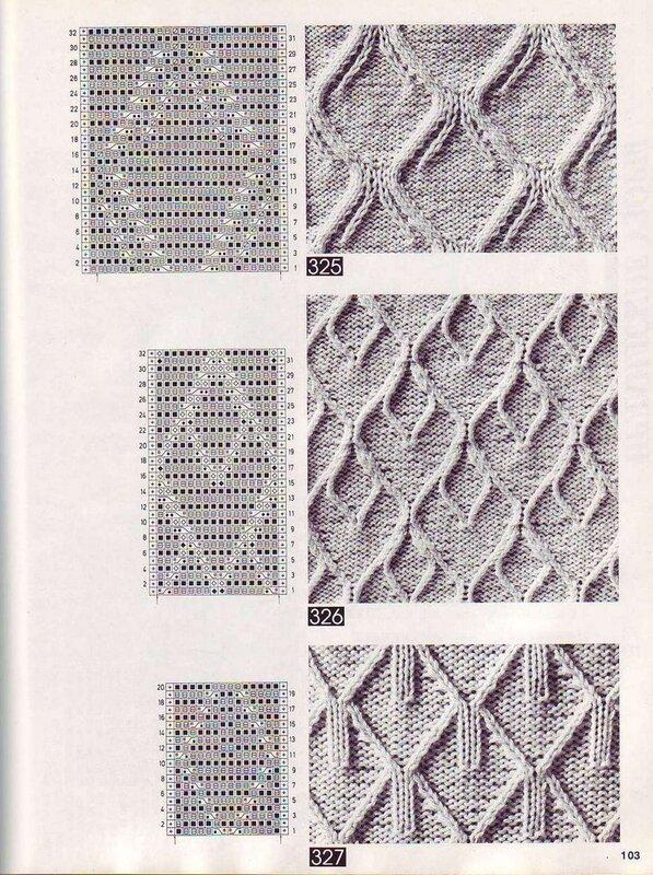Теги. спицами. схемы. книга.  100 узоров араны. вязание. араны.