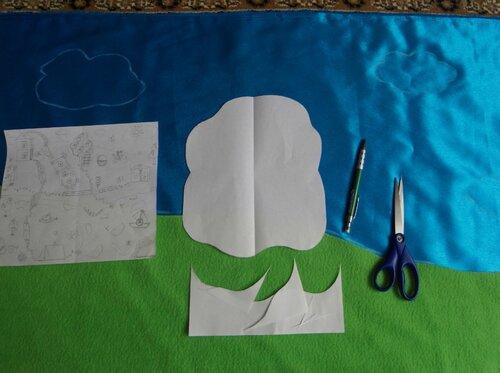 Развивающий коврик... как научиться делать выкройки