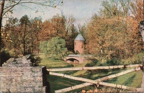 Павловск. 1965. Руинный мостик