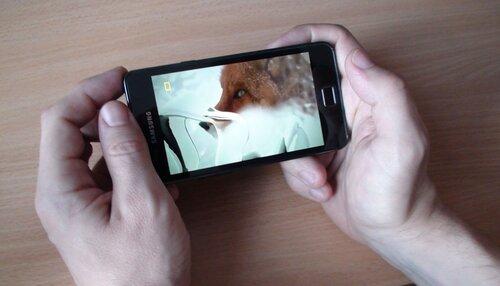 Видеоплеер проигрывает фильм в MPEG-4 (720p.)