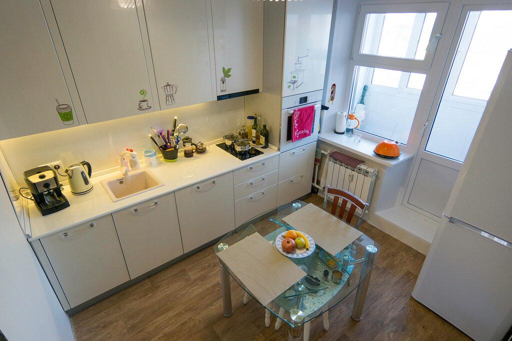 Кухня 8 кв.м. до и после. Часть 2.