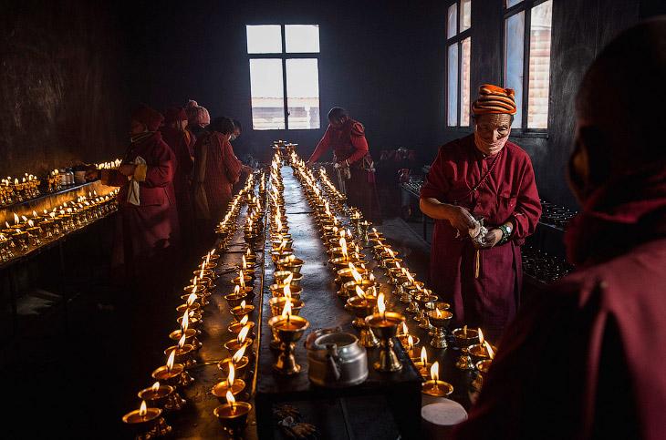 2. Ларунг Гар, известный также как Институт Сертар располагается в удаленной и затерянной в Гималаях