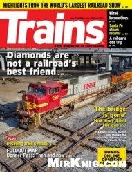 Журнал Trains Magazine - February 2015