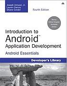 Книга Introduction to Android Application Development, 4th Edition
