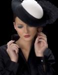 Девушки в шляпах 0_8457d_5897c77c_S