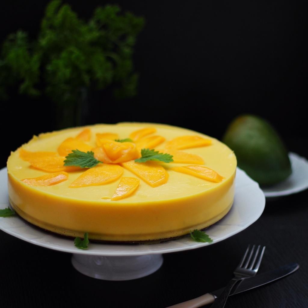 манговый торт с кремом