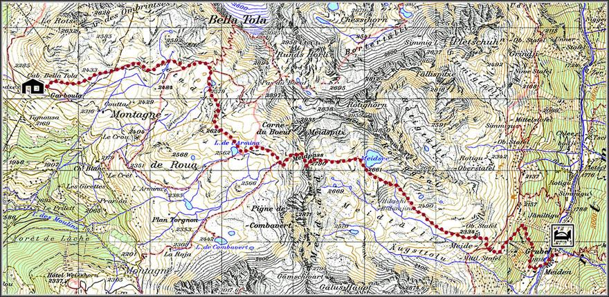 Walker's Haute Route. От Монблана к Маттерхорну