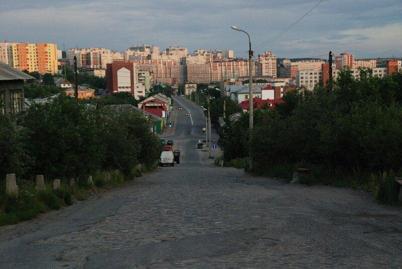 В Мурманске временно меняют схему движения транспорта.