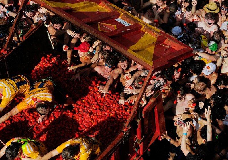 La Tomatina | Фестиваль Томатина