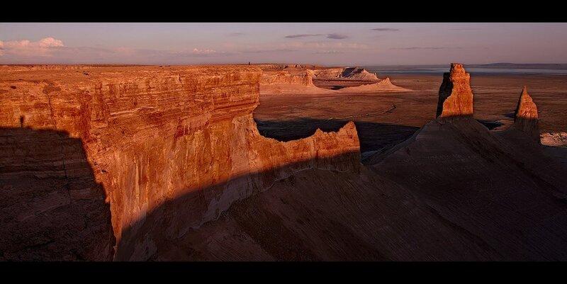 Скалы Боз-Жира, Плато Устюрт, Казахстан