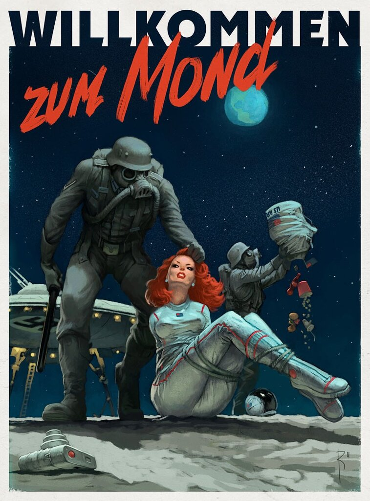 bad moon.автор Владимир Казак
