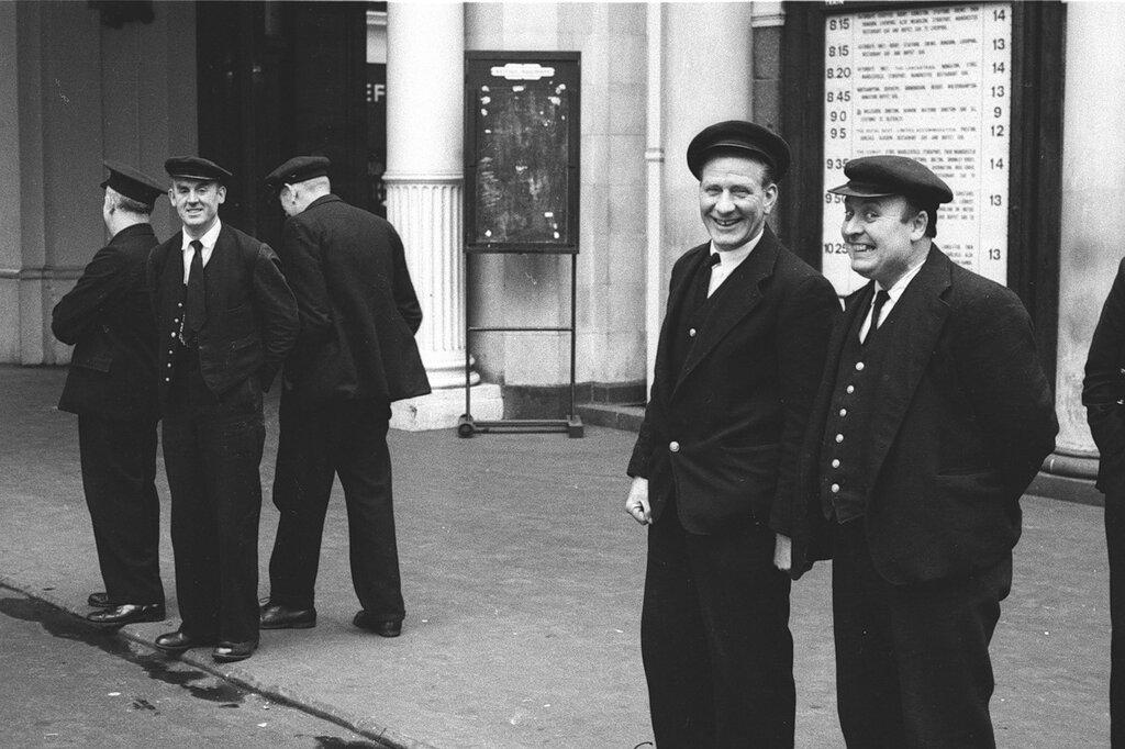 John 'Hoppy' Hopkins.Rail Porters