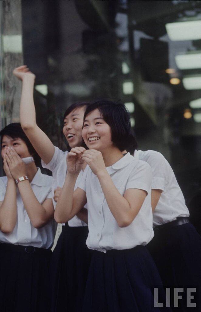The Beatles take Japan