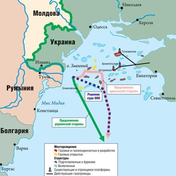 км) территориального моря