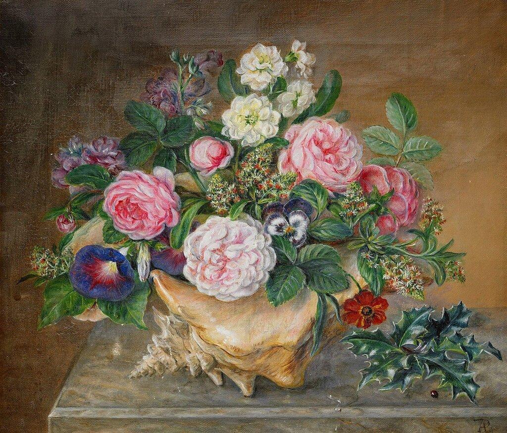 схемы вышивок по картинам русских и зарубежных художников 18 19 веков