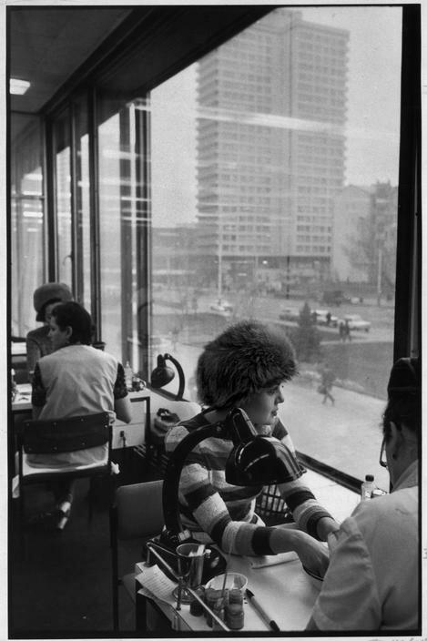 1972. Москва.  Арбат. Салон красоты «Чародейка»