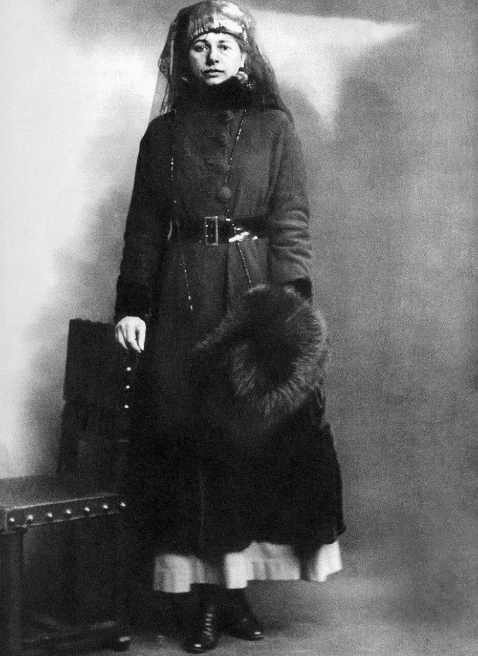 1917. Мата Хари в день ее ареста, 13 февраля