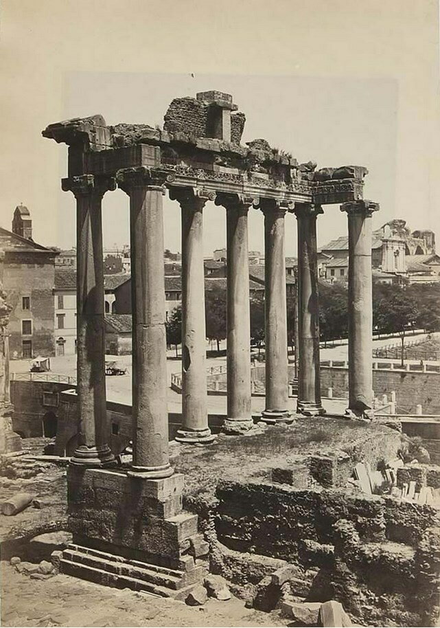 Храм Сатурна на римском Форуме