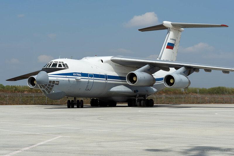 Ильюшин Ил-76МД (RA-76599) D700349