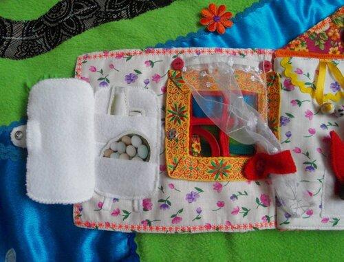 Развивающий коврик Семьландия... Волшебный игровой домик... холодильник