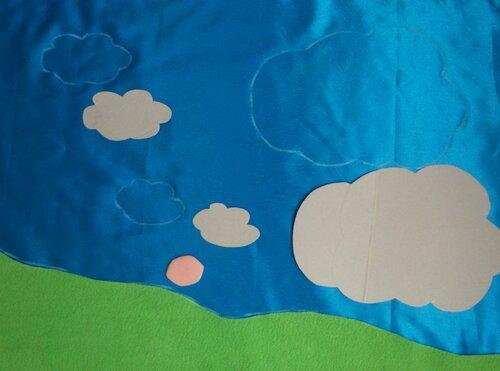 Детский развивающий коврик... делаем сами выкройки