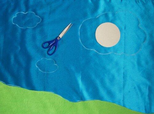 Детский развивающий коврик... как делать выкройки
