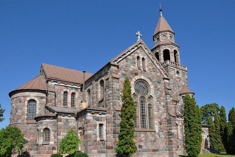 Вишки (Višķi). Римская католическая церковь Св. Иоанна Крестителя