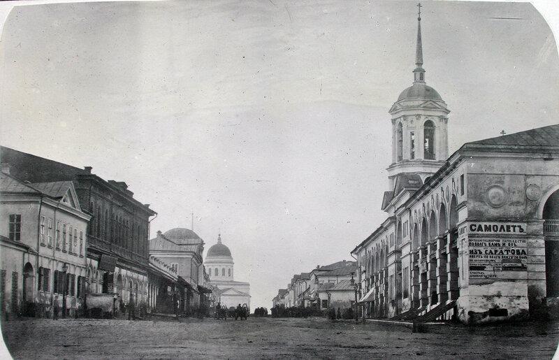 1863 Саратов улица Московская. Старый гостиный двор. Муренко А.С..jpg