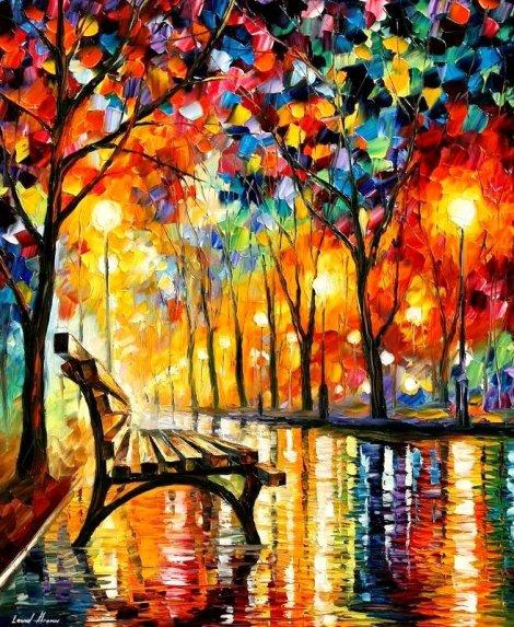 Осенние краски Леонида Афремова