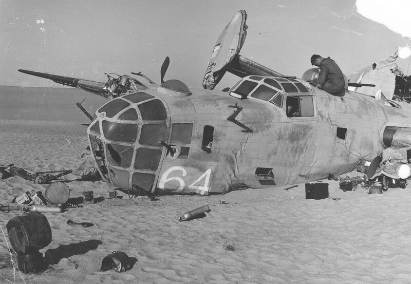 """Consolidated B-24D """"Lady Be Good"""""""