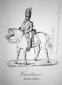 карабинер 1800-1806