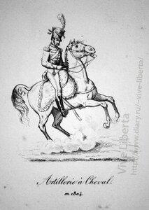 конный артиллерист 1804