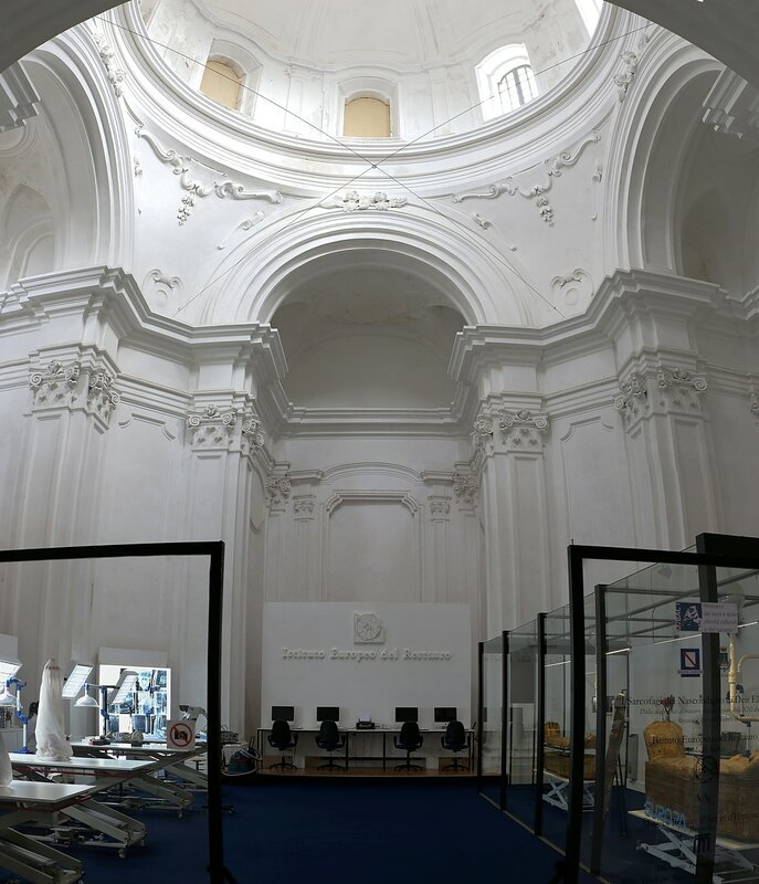 Искья. Арагонский замок. Церковь Непорочного зачатия (Chiesa dell'Immacolata)