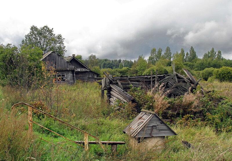 фото брошенных старых деревень поступает