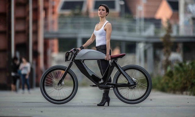 Black Electric Bike (5 pics)