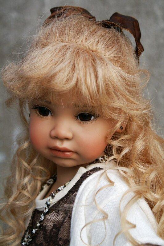 Виниловые куклы OOAK Анжелы Суттер (Angela Sutter)