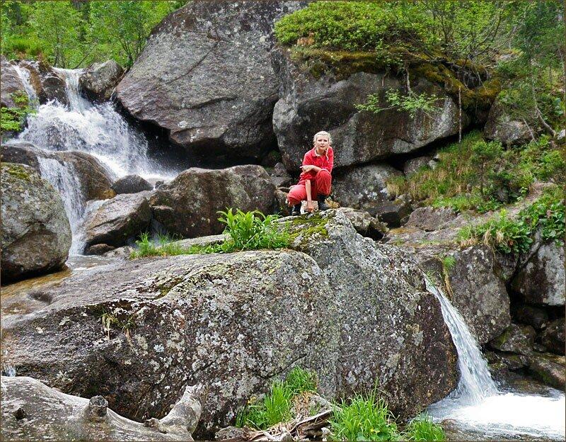 Среди водопадов
