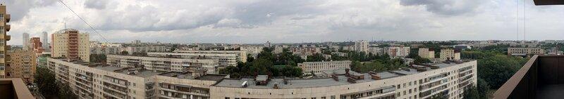 Панорама Челябинска с Братьев Кашириных 12Д