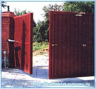 Ворота своими руками – как сделать самому распашные и откатные ворота на даче