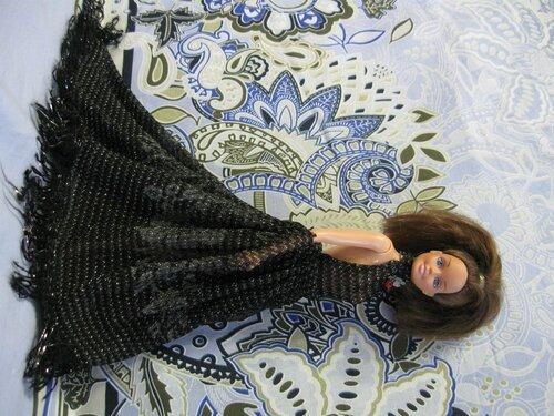 длинное платье Барби