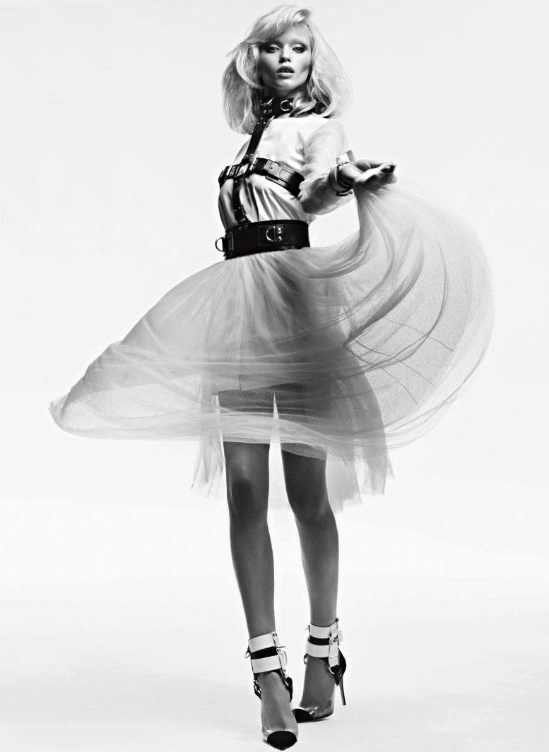 модель Эбби Ли Кершоу / Abbey Lee Kershaw, фотограф Hedi Slimane