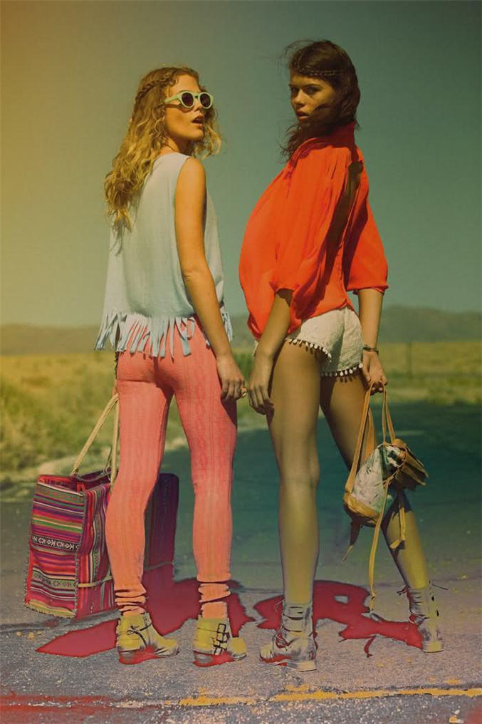модели Челси Шухман и Джорджия Фаулер / Chelsea Schuchman and Georgia Fowler, фотограф Daniel Kincaid