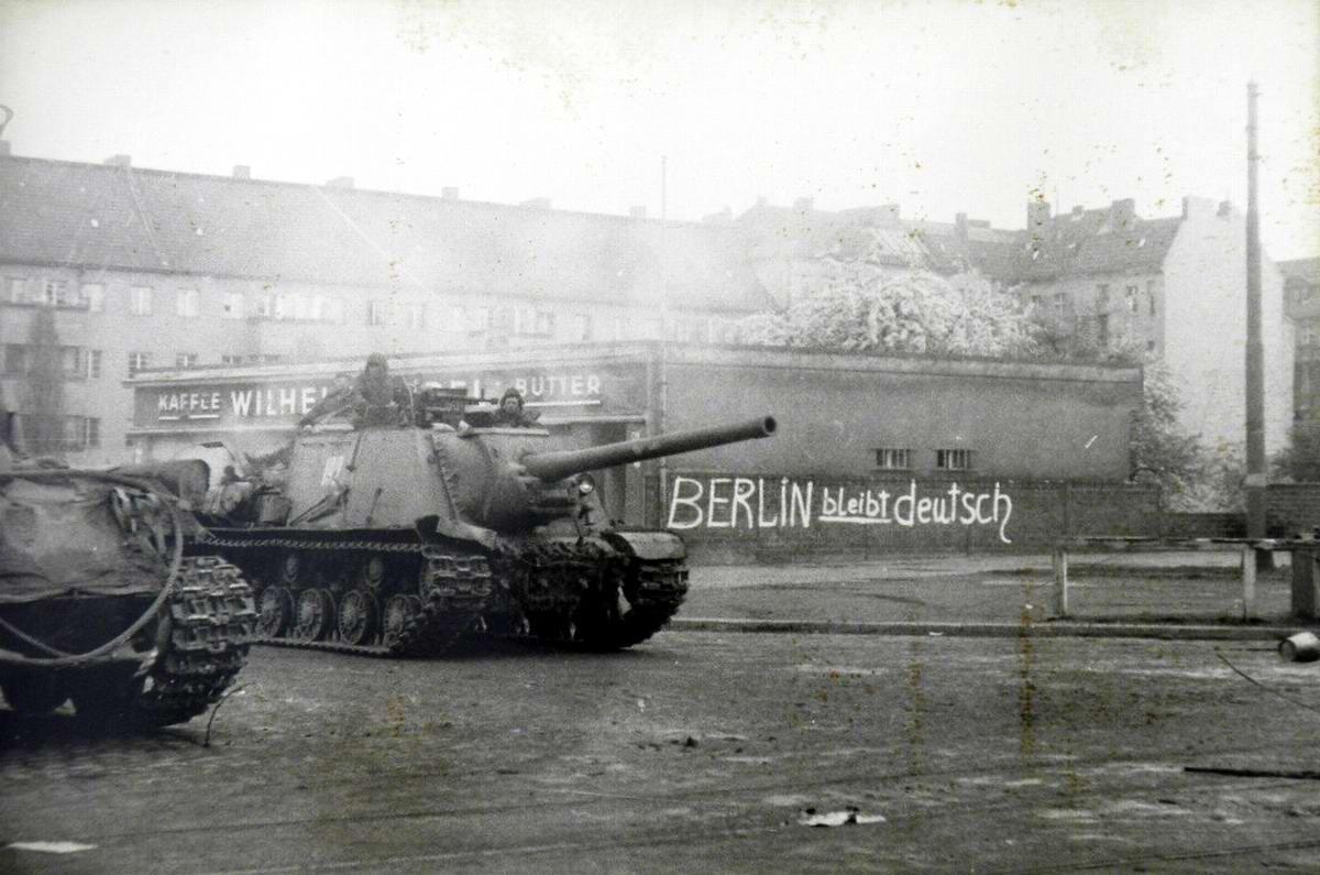 Падение Берлина на фотографиях весны 1945 года (27)