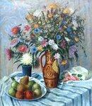 Полевые цветы.  Х.,м., 58х68. худ.А.А.Бутюгов