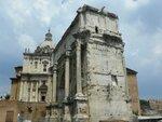 Арка Адриана, Римский Форум