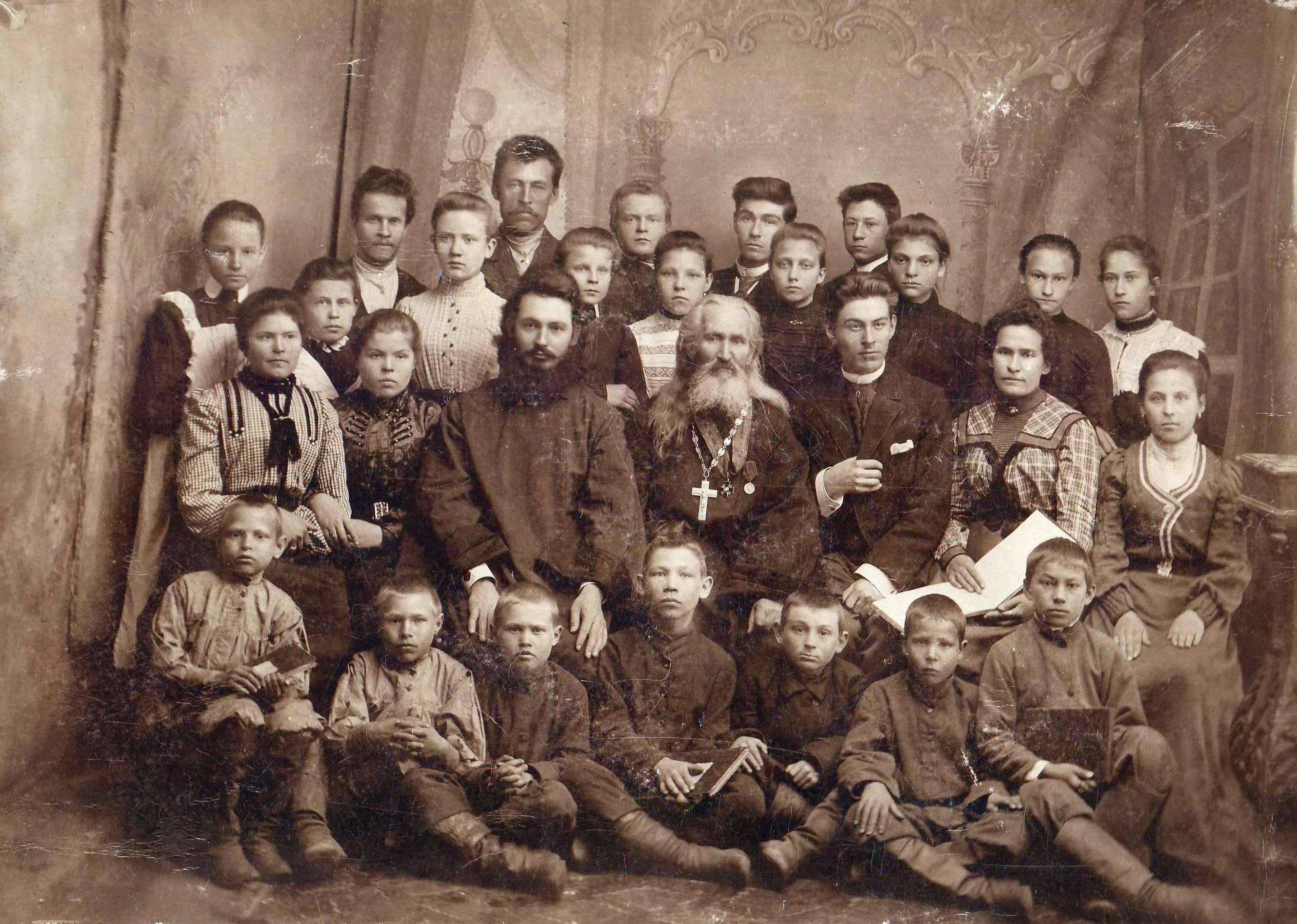 1902. Школьный хор